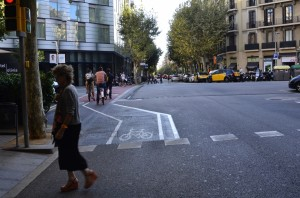 Bike Lane Barcelona